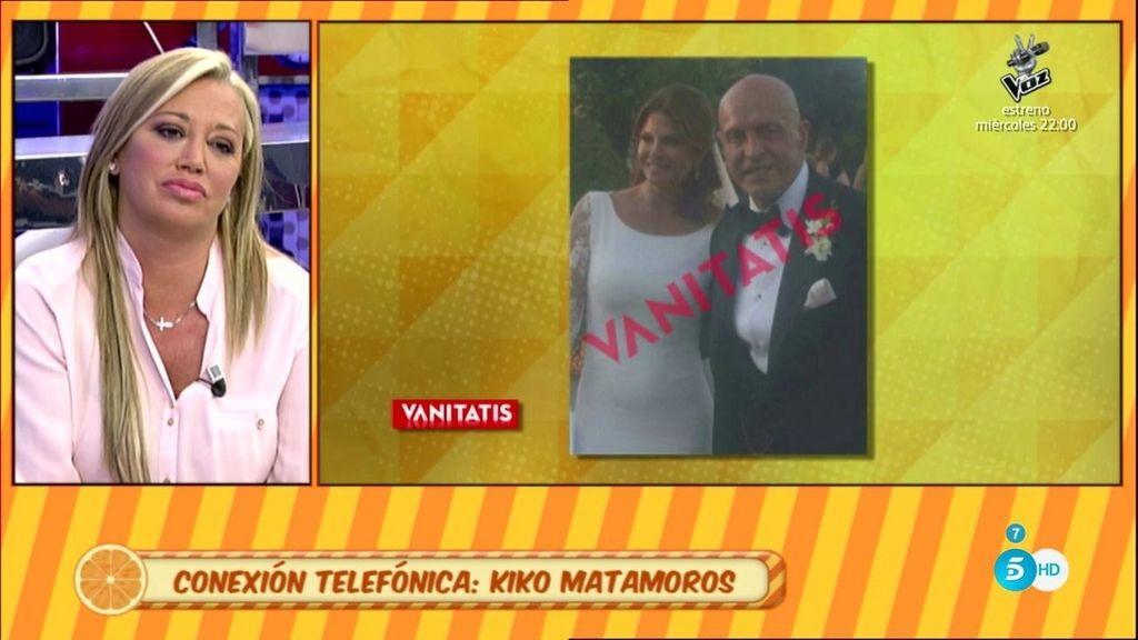 """Matamoros: """"Sabré quién ha filtrado las fotos de mi boda y le apartaré de mi vida"""""""