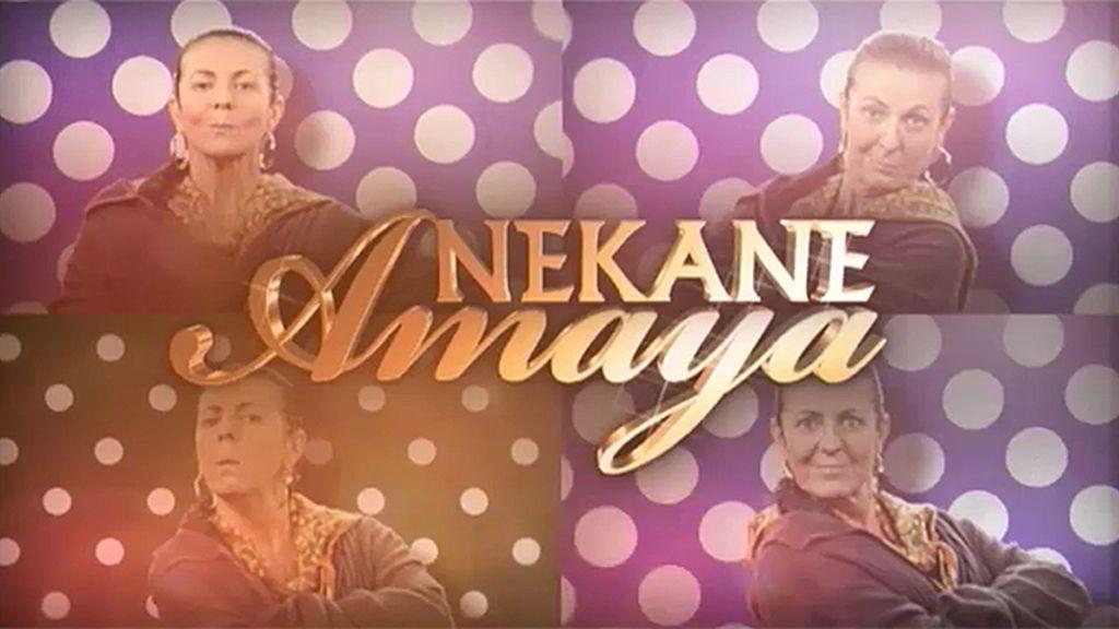 Nekane Amaya y su puesto en San Mamés
