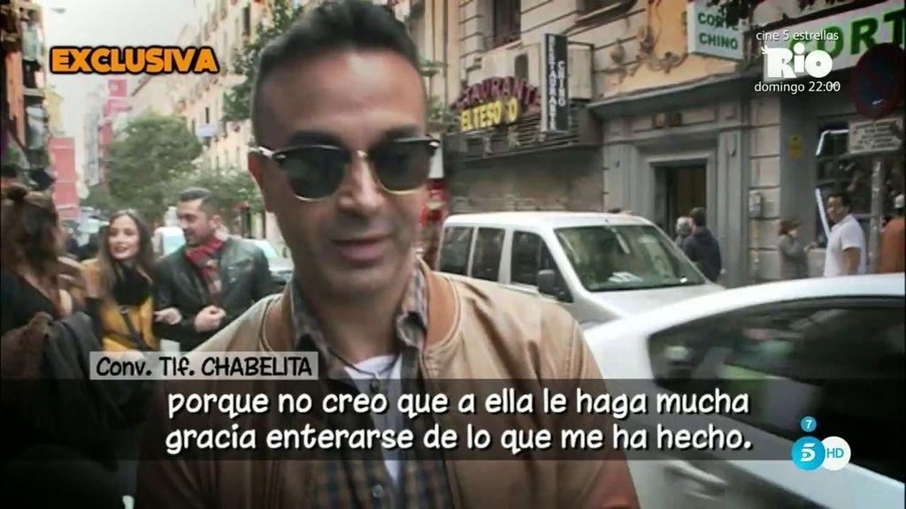 Chabelita duda de Luis Rollán