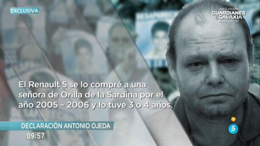La declaración en la que se delató Antonio Ojeda, en exclusiva en 'AR'