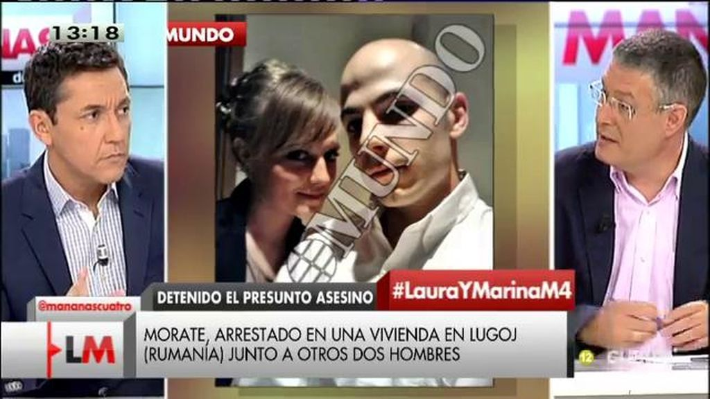 La extradición de Morate podría llevarse a cabo en una semana, según J.M. Benito