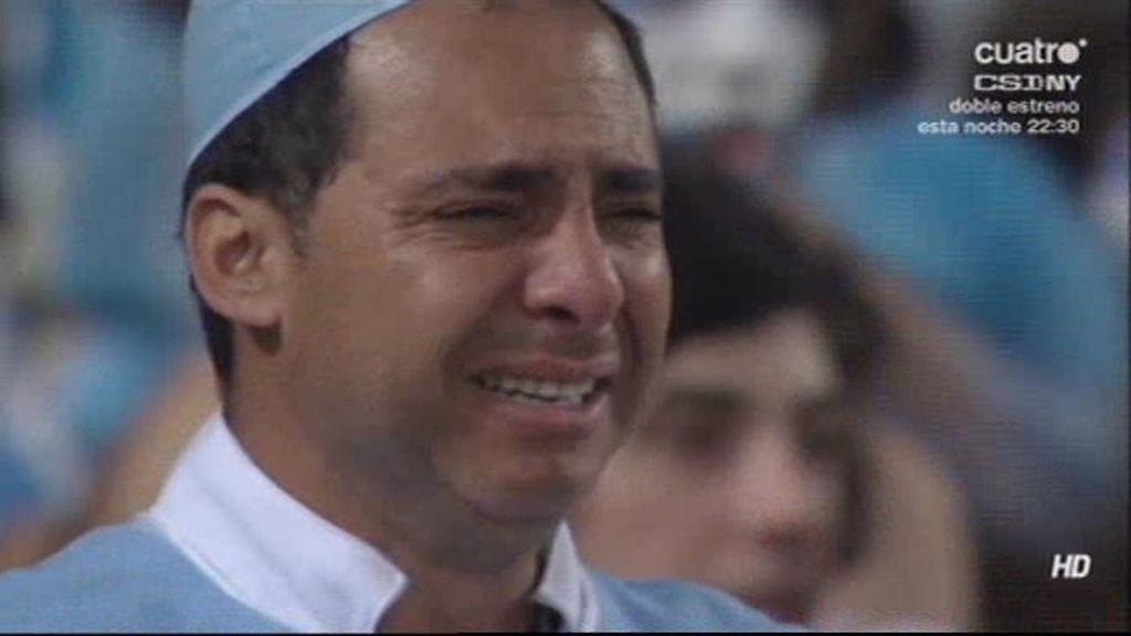 Así vivió la afición argentina la final en la grada en el estadio de Maracaná