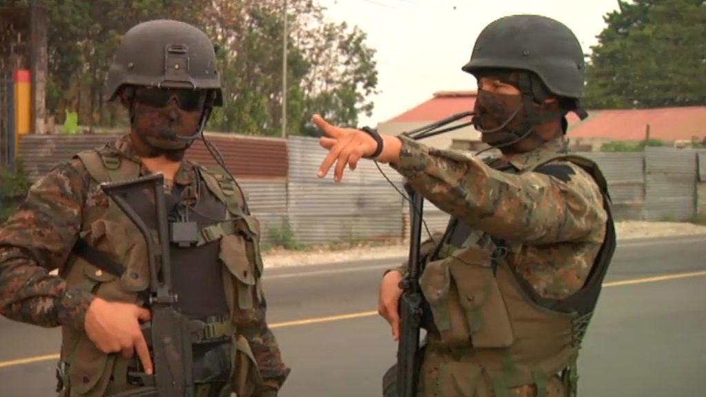 El narcotráfico amenaza la frontera entre Guatemala y México