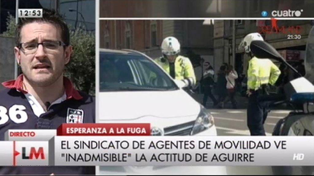 """Jesús Méndez: """"Existen partes, el compañero estuvo atendido en la mutua"""""""