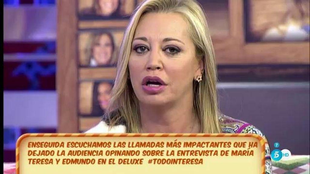 """Belén: """"Poderes con Toño Sanchís no hay"""""""