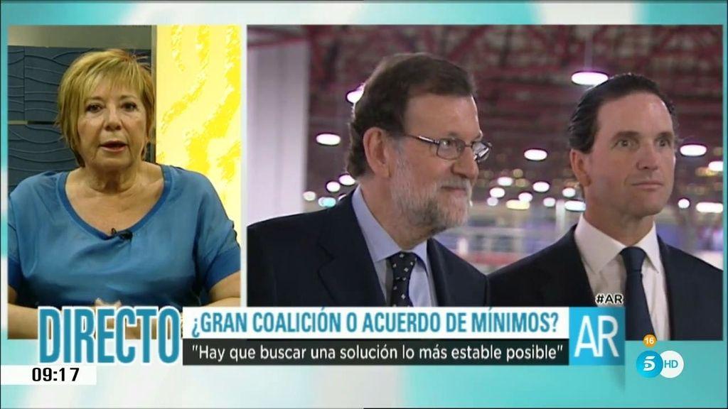 """Celia Villalobos: """"Espero que tengamos gobierno la primera semana de agosto"""""""