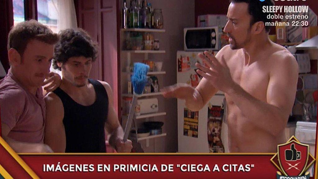 Exclusiva: las primeras imágenes de Pablo Puyol y Carolina Bang en 'Ciega a citas'