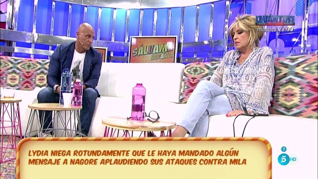 Matamoros se disculpa con Lydia Lozano