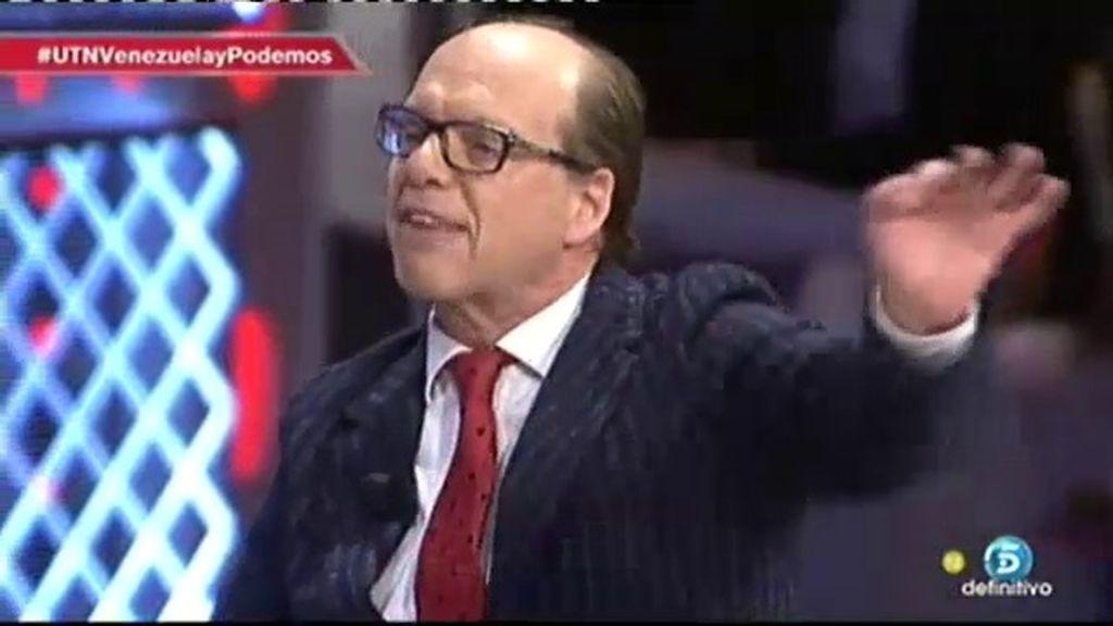 """Jaime González: """"Podemos se paseaba por Venezuela como Pedro por su casa"""""""