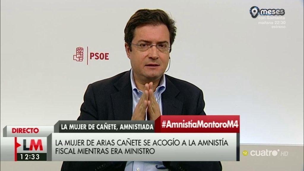 """Óscar López: """"El PP necesita regeneración como el comer"""""""