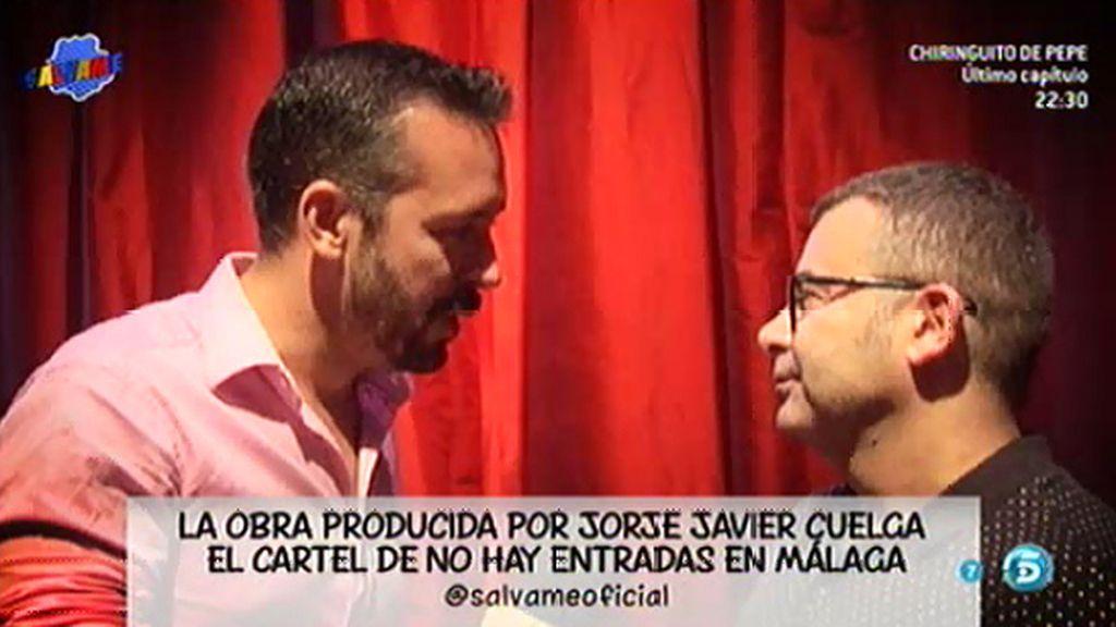 J.J. Vázquez, emocionado tras comenzar la gira de 'Miguel de Molina al desnudo'