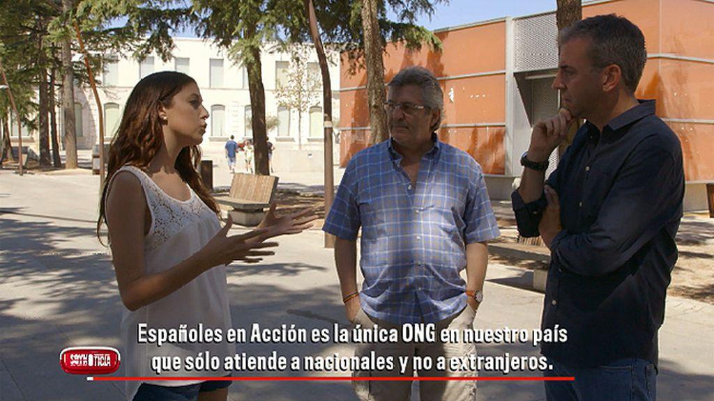 """Mª José Tella, portavoz de  'Españoles en acción': """"Defendemos que prioritariamente se tiene que proteger a los españoles"""""""