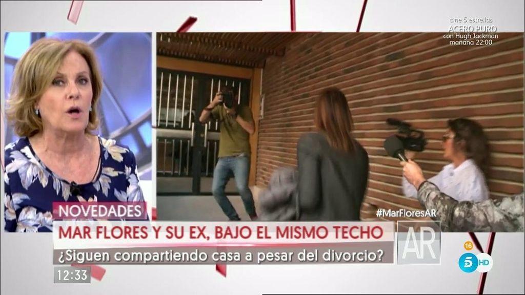 """Barrientos, de Mar Flores: """"Javier le desea mucha suerte con su nueva pareja"""""""