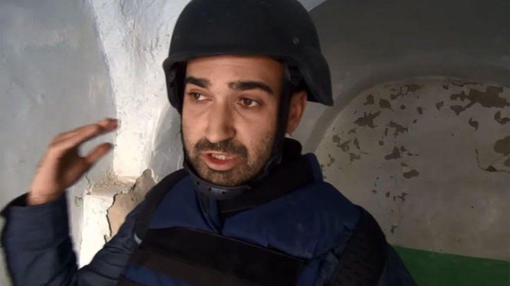 El equipo de 'Infiltrados', sorprendido por un ataque yihadista