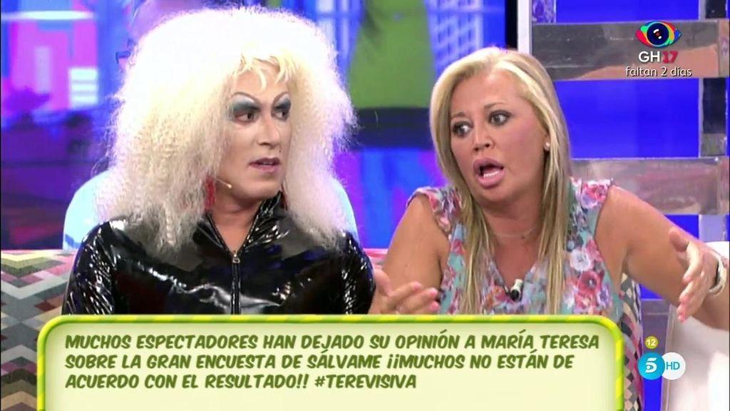 """Belén Esteban, a los espectadores: """"Déjenme que disfrute ser la segunda más deseada"""""""