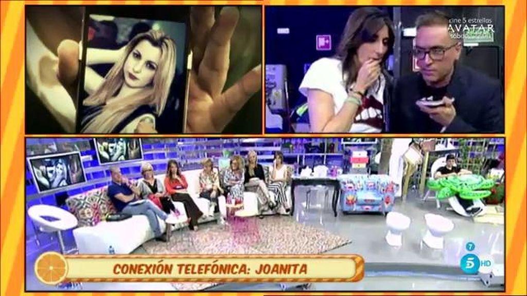 """Joanita, la  supuesta amante de Javi Tudela: """"Testigos me vieron entrar en su habitación"""""""