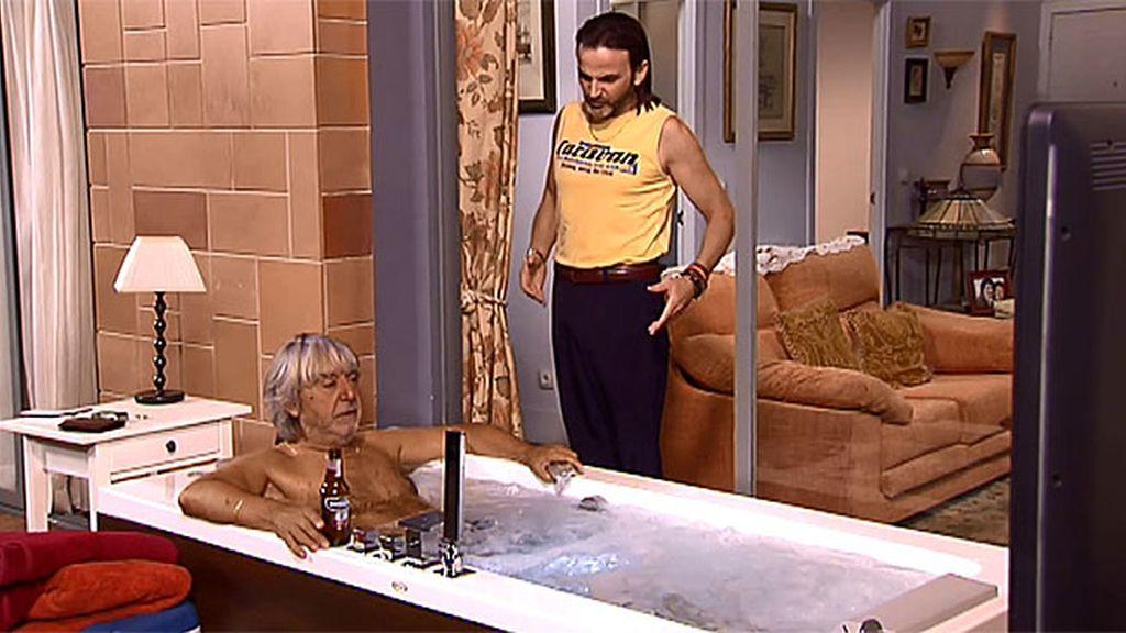 Vicente quiere vivir en un jacuzzi