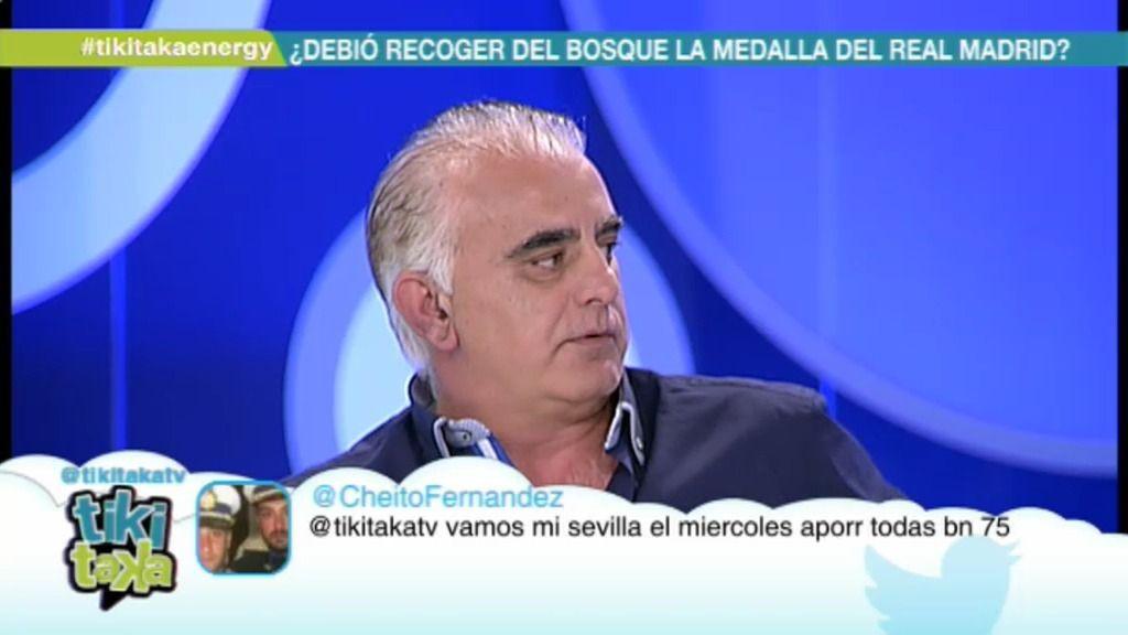 """Juanma Rodríguez: """"El Madrid tiene que sacar a hombros a Del Bosque, y al revés"""""""