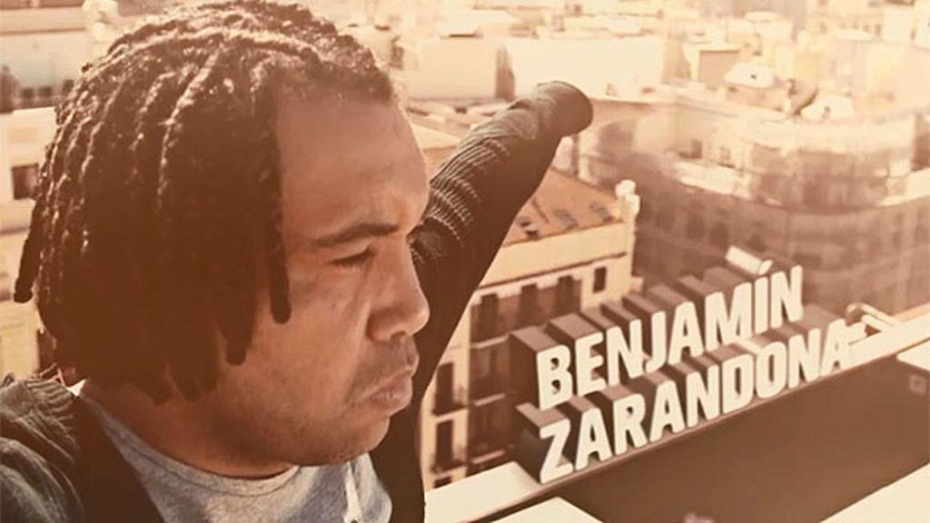 """Benjamín Zarandona: """"No tengo miedo a tirarme de las alturas ni de sumergirme"""""""