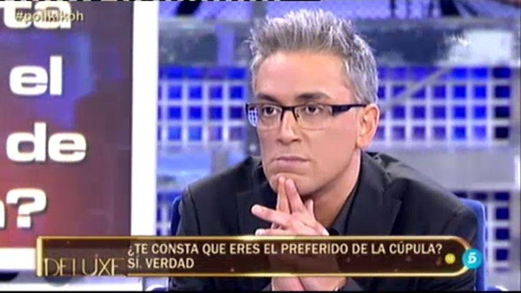 ¿Es Kiko Hernández el colaborador preferido de la cúpula?