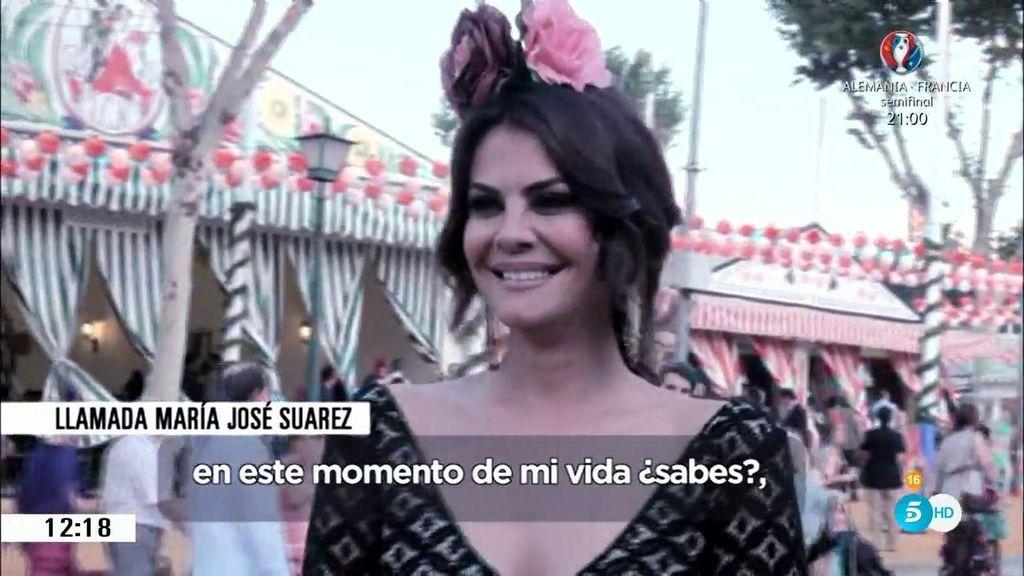 Primicia en 'AR': María José Suárez habla sobre lo ocurrido entre Feliciano y Alba