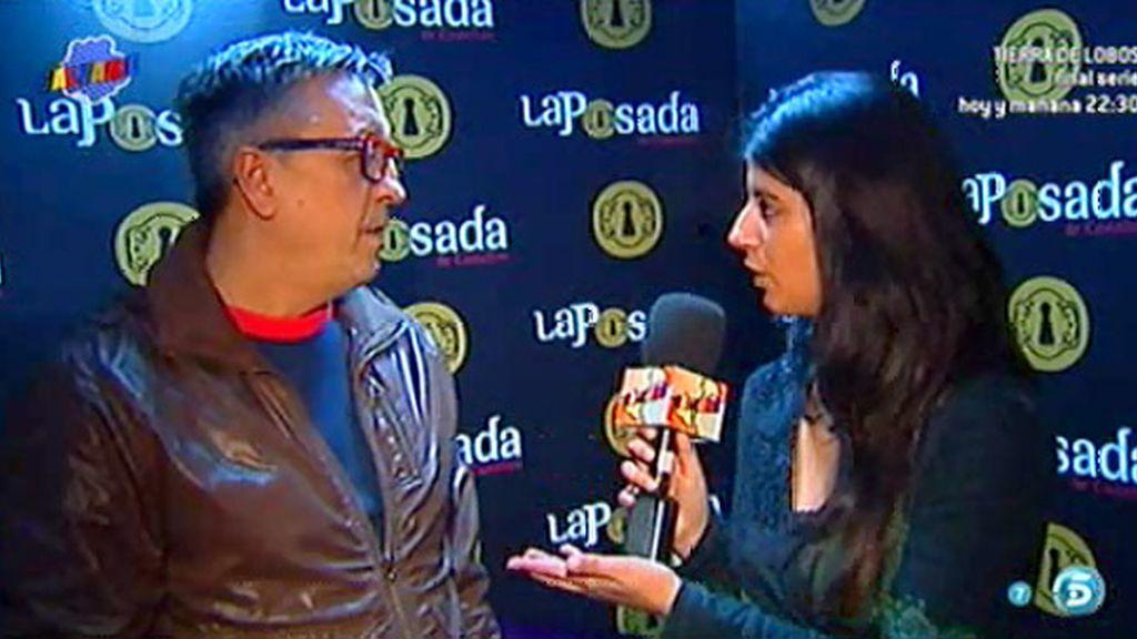 """D. Cuevas, sobre Diego Campanario: """"Está bien, incluso se ríe un poquito"""""""