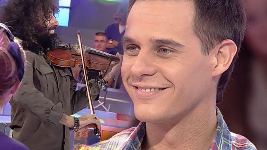 Christian se emociona al escuchar la canción con la que se retiró su mujer del mundo de la gimnasia en las Olimpiadas de Pekín 2008