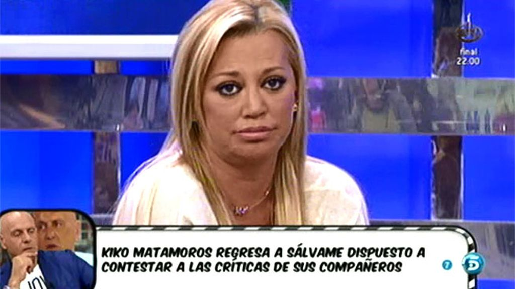 "Belén Esteban responde a Alessandro Lecquio: ""Yo no publicito a mi hija"""