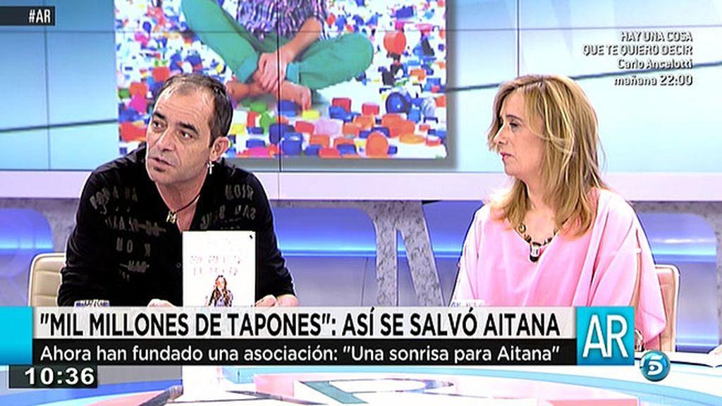 Los padres de Aitana presentan 'Mil millones de tapones: así se salvó Aitana'
