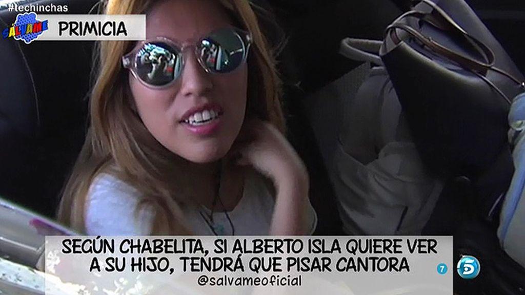 """Chabelita: """"Alberto puede ir a ver al niño a Cantora cuando quiera"""""""