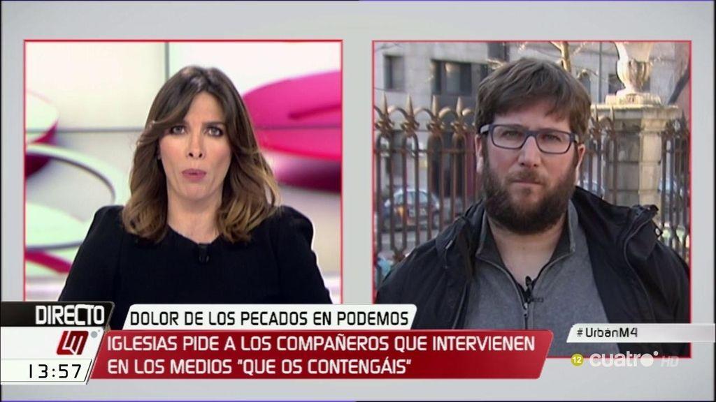 """Miguel Urbán: """"Lo importante no es tanto pedir perdón como poner remedios"""""""
