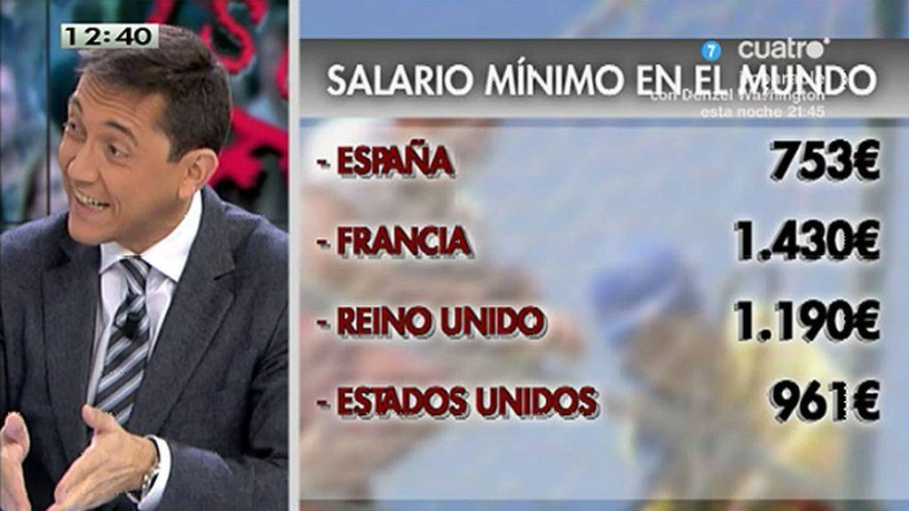 """J.Ruiz, del salario mínimo: """"Lo que plantean es un suicidio de presente y de futuro"""""""