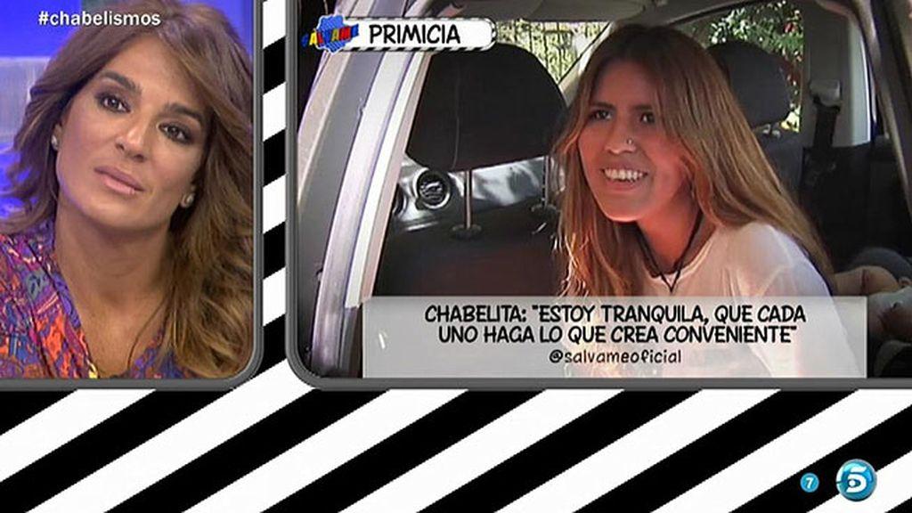"""Chabelita, sobre Alberto Isla: """"Cada uno que haga lo que crea conveniente"""""""
