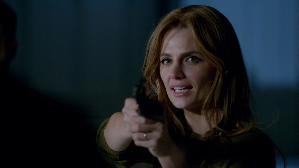 Castle y Beckett descubren a la vez el significado de 'LokSat 2011 BD'