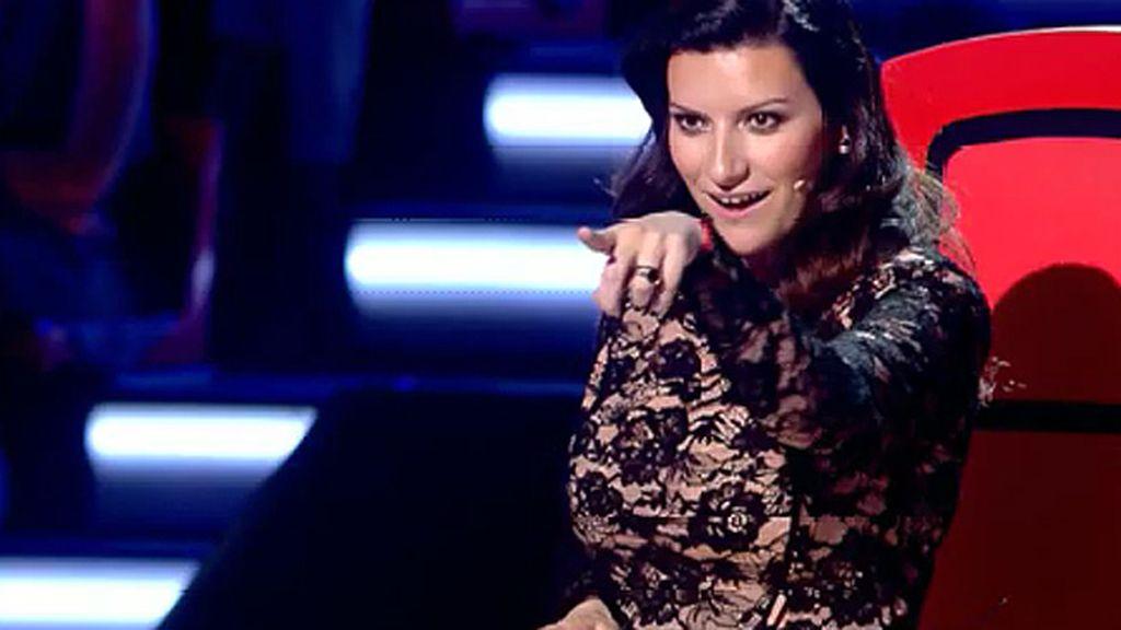 Laura Pausini pide entradas gratis para un concierto de 'Hombres G'