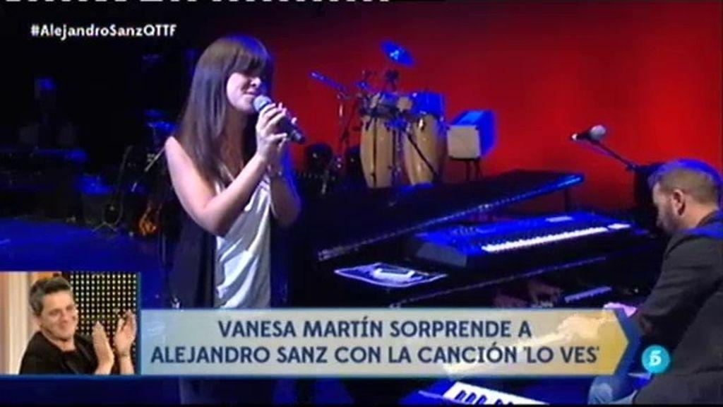 """Vanesa Martín sorprende a Alejandro desde el Teatro Real: """"Eres un maestro"""""""