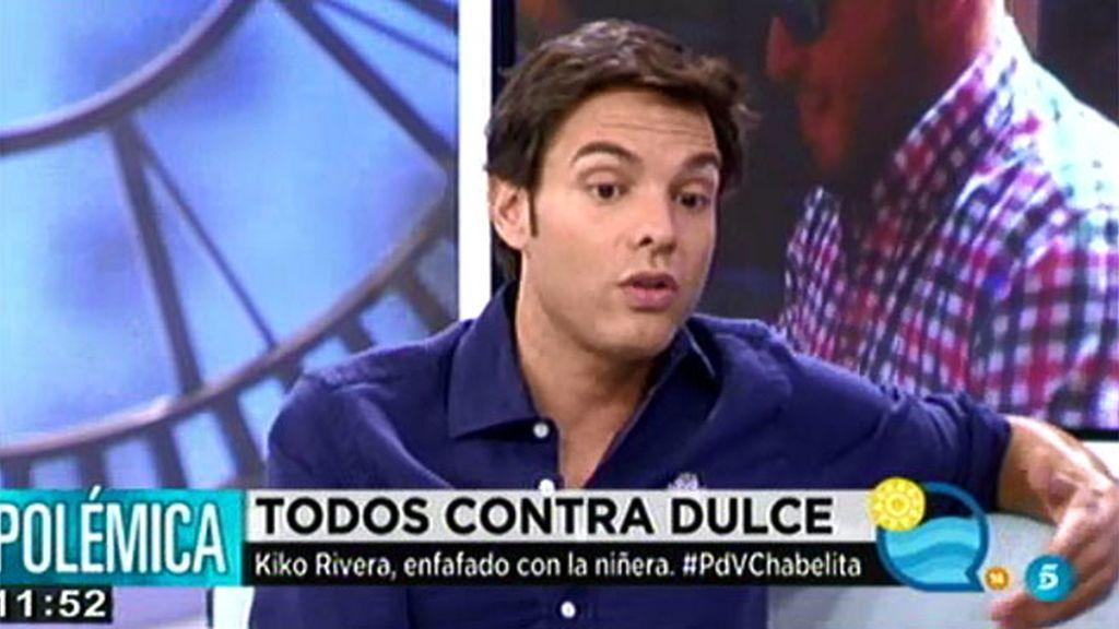"""Antonio Rossi: """"Agustín Pantoja le prohíbe la entrada a Dulce en Cantora"""""""