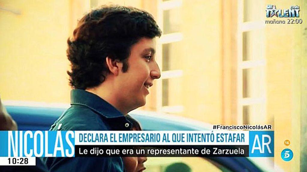 Declara el empresario asturiano que destapó la trama del pequeño Nicolás
