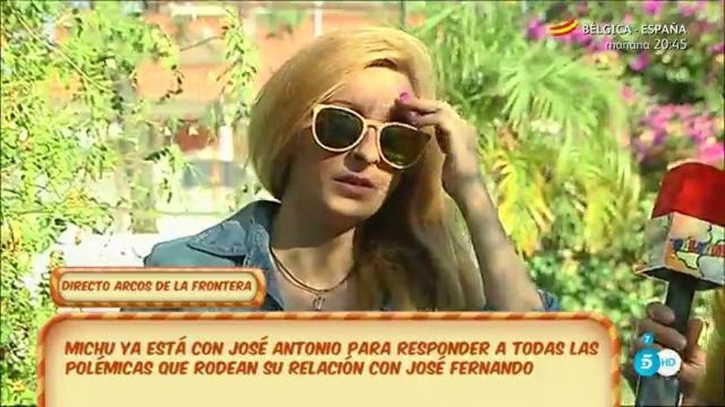 """Michu: """"Creo que lo mejor es que José Fernando esté con su familia"""""""
