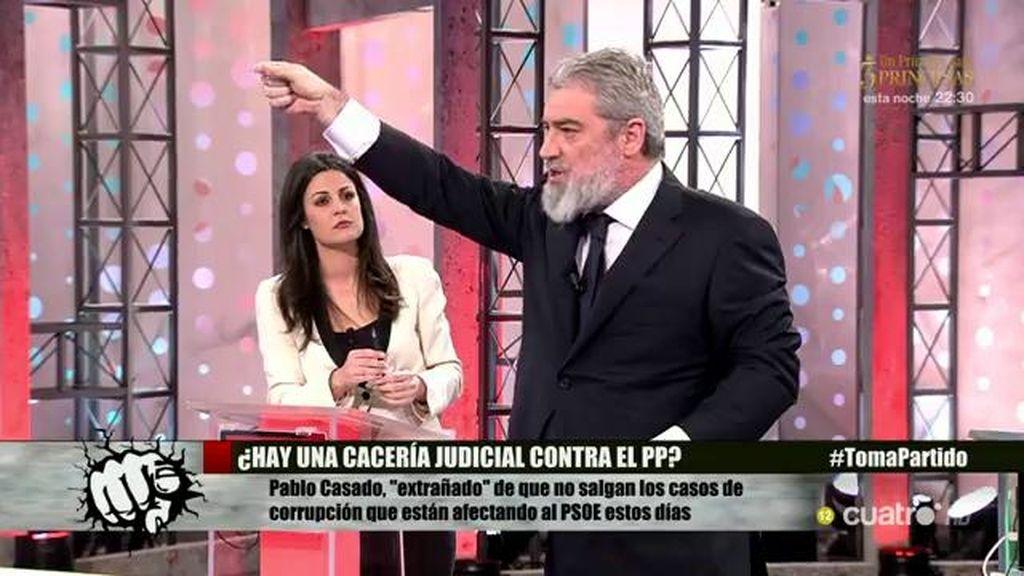 La lista de Miguel Ángel Rodríguez: ¿Qué partidos son los más corruptos?
