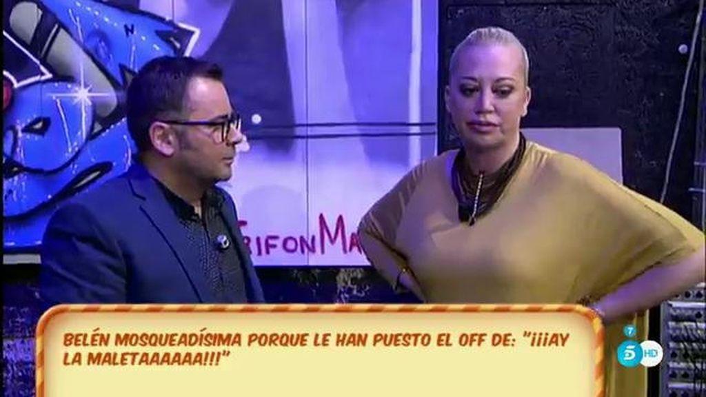 """Belén exige que 'Sálvame' borre el audio en el que dice: """"Que te compre Miguel la maleta"""""""