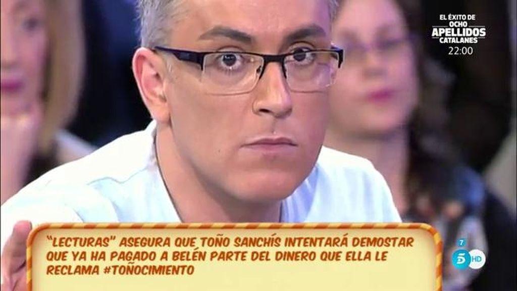 """Kiko H.: """"Podríamos ver a Toño Sanchís dentro de poco en dos programas"""""""