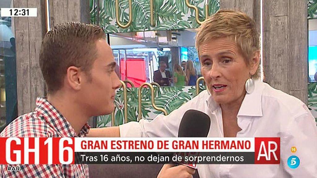 """Mercedes Milá, ante el estreno de 'GH': """"Llevamos 16 ediciones, es alucinante"""""""