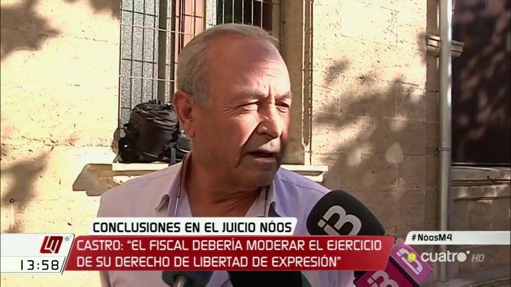 """Castro: """"El fiscal debería moderar el ejercicio de su derecho de libertad de expresión"""""""