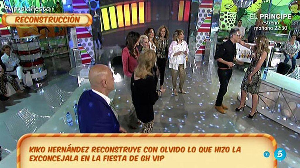 """Kiko Hernández: """"Olvido Hormigos se puso cariñosa conmigo en la fiesta de 'GH VIP"""""""