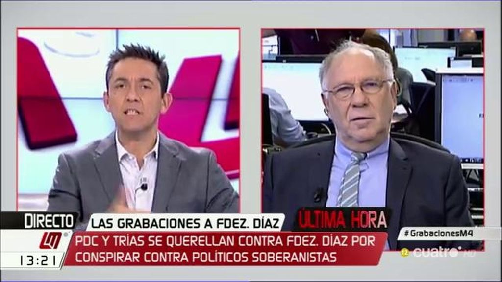 """Ekaizer: """"La querella contra Fernández Díaz habla de actitud delictiva continuada"""""""