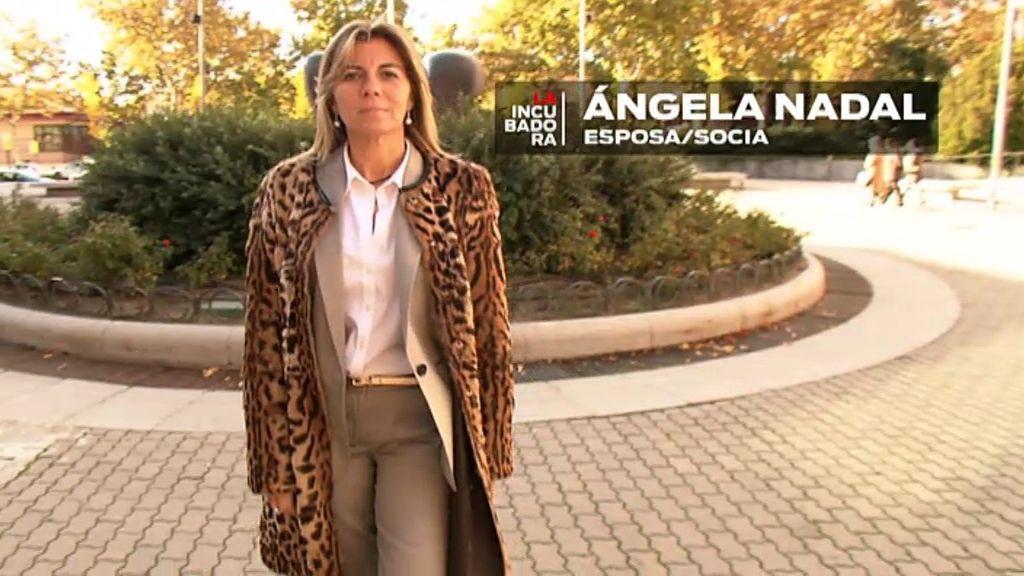 Angela, mujer y socia de Juanma, la parte más dura de la empresa
