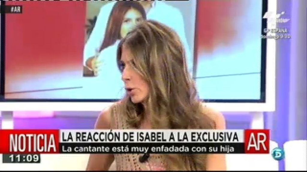 Isabel Pantoja está muy enfadada con su hija, según Marisa Martín Blázquez
