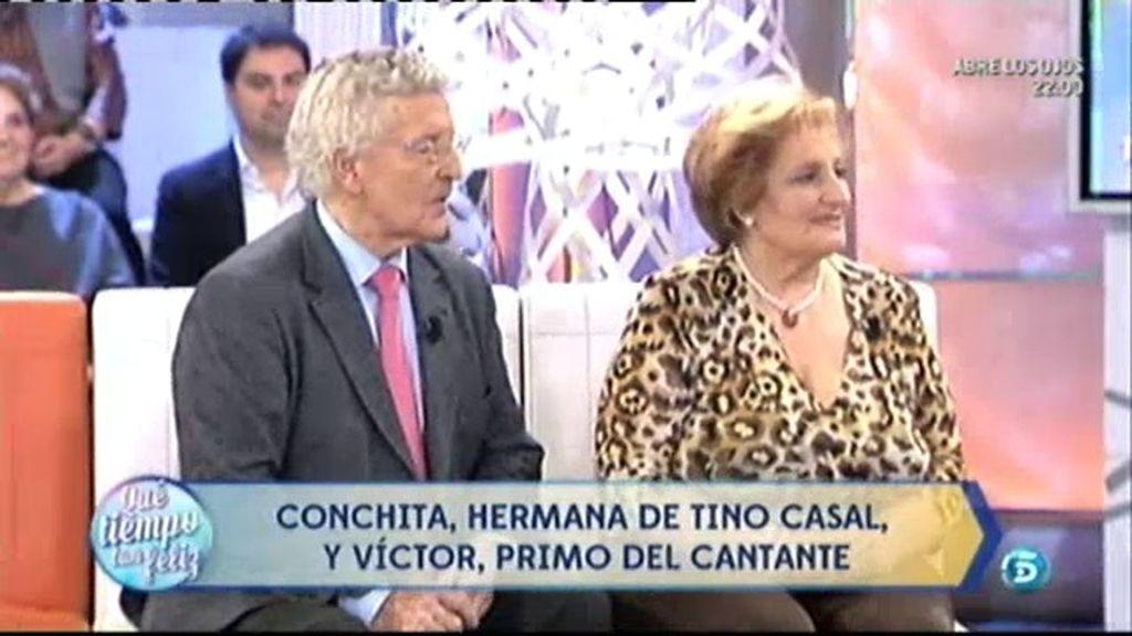 La familia de Tino Casal, por primera vez en Televisión