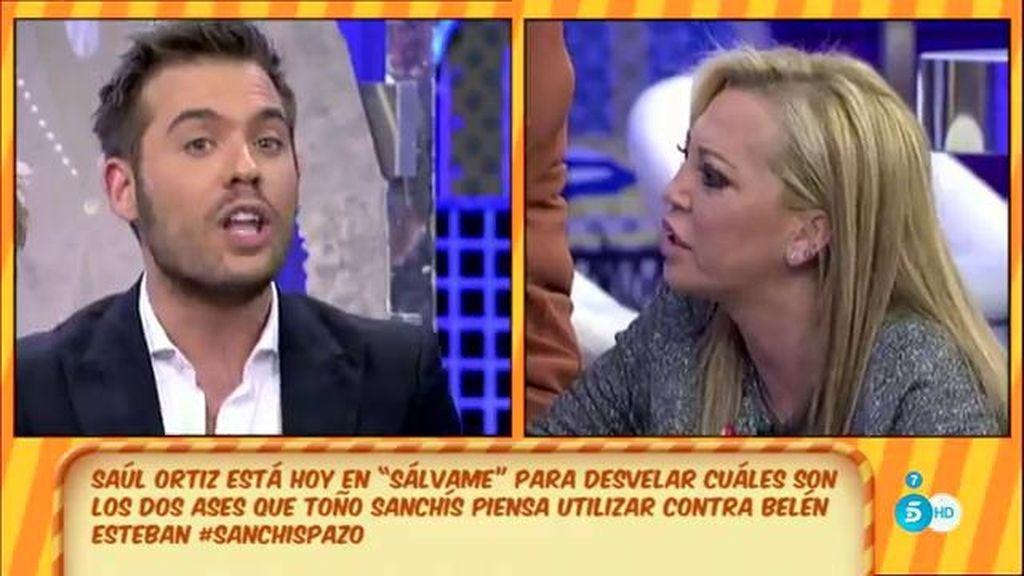 """S. Ortiz, Belén E.: """"Si dices que nunca le has pedido dinero a Toño Sanchís, no es verdad"""""""